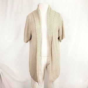 Lane Bryant Sweater Short Sleeve Knit i1320